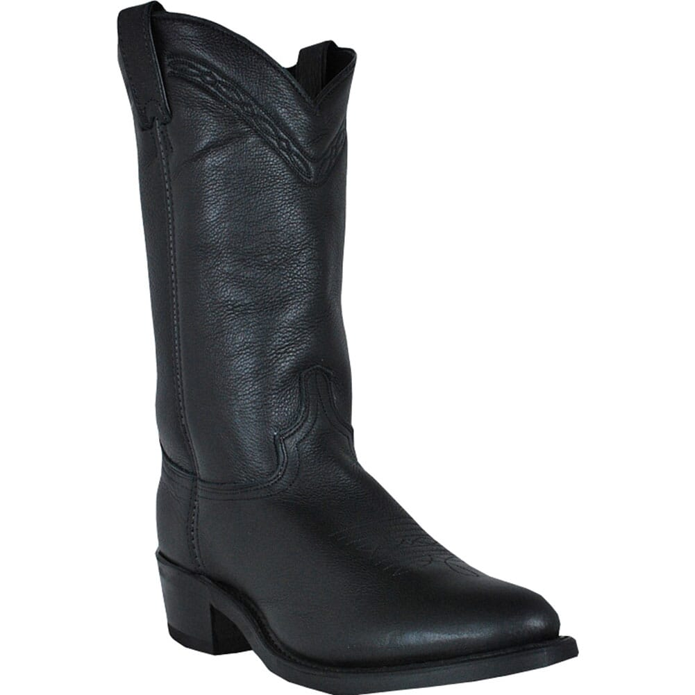 Image for Abilene Men's Cowhide Western Boots - Black from bootbay