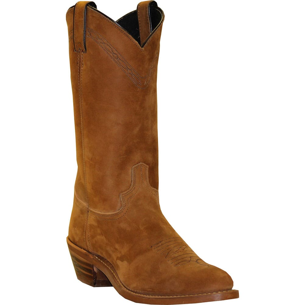 Image for Abilene Men's Cowhide Western Boots - Dirty Brown from bootbay
