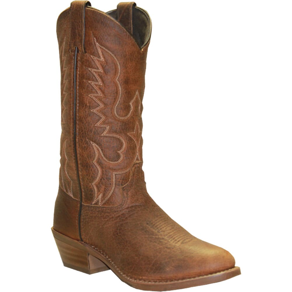 Image for Abilene Men's Air Ride Comfort System Western Boots - Tan Bison from bootbay