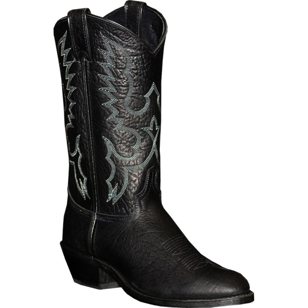 Image for Abilene Men's Air Ride Comfort System Western Boots - Black Bison from bootbay