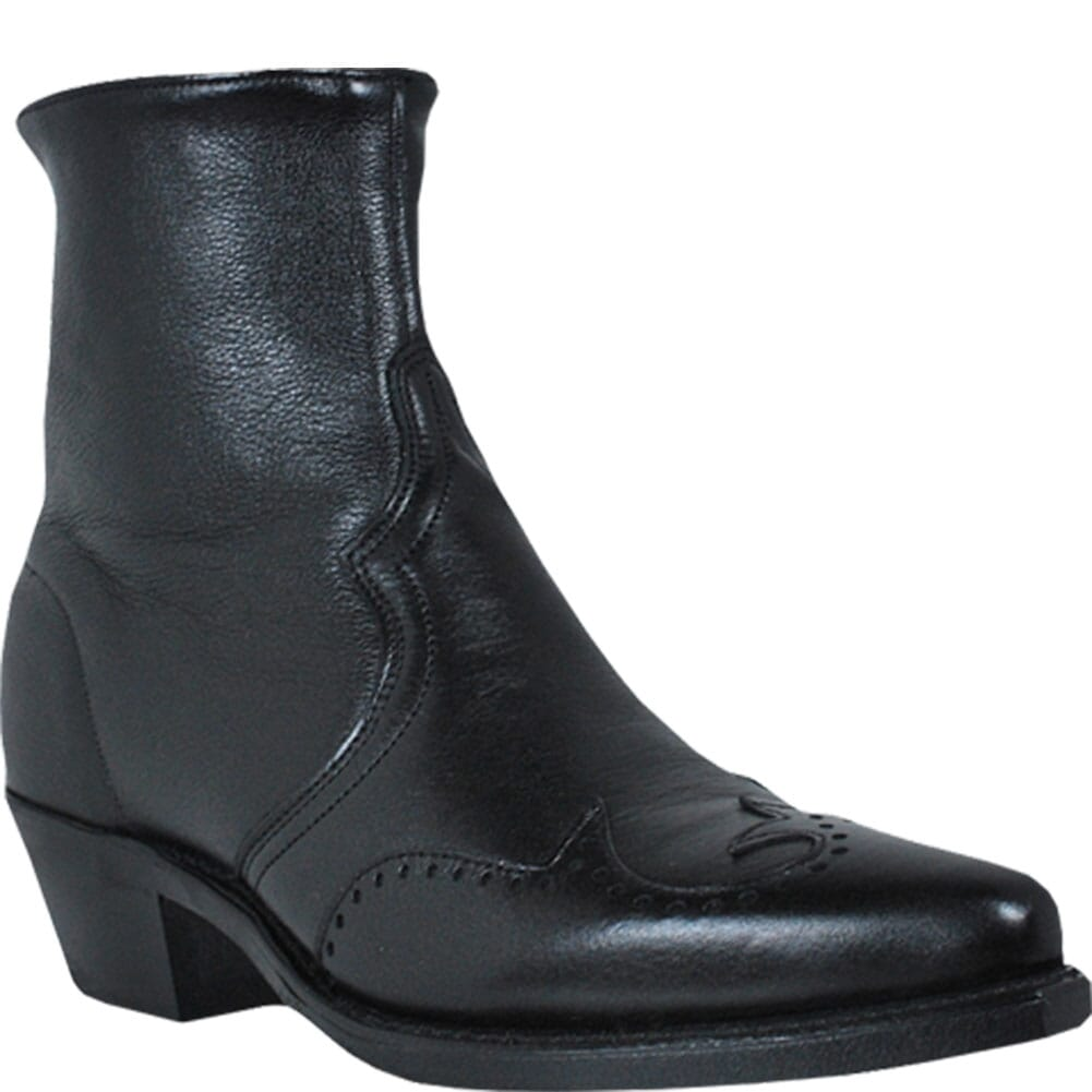 Image for Abilene Men's Wingtip Western Boots - Black from bootbay