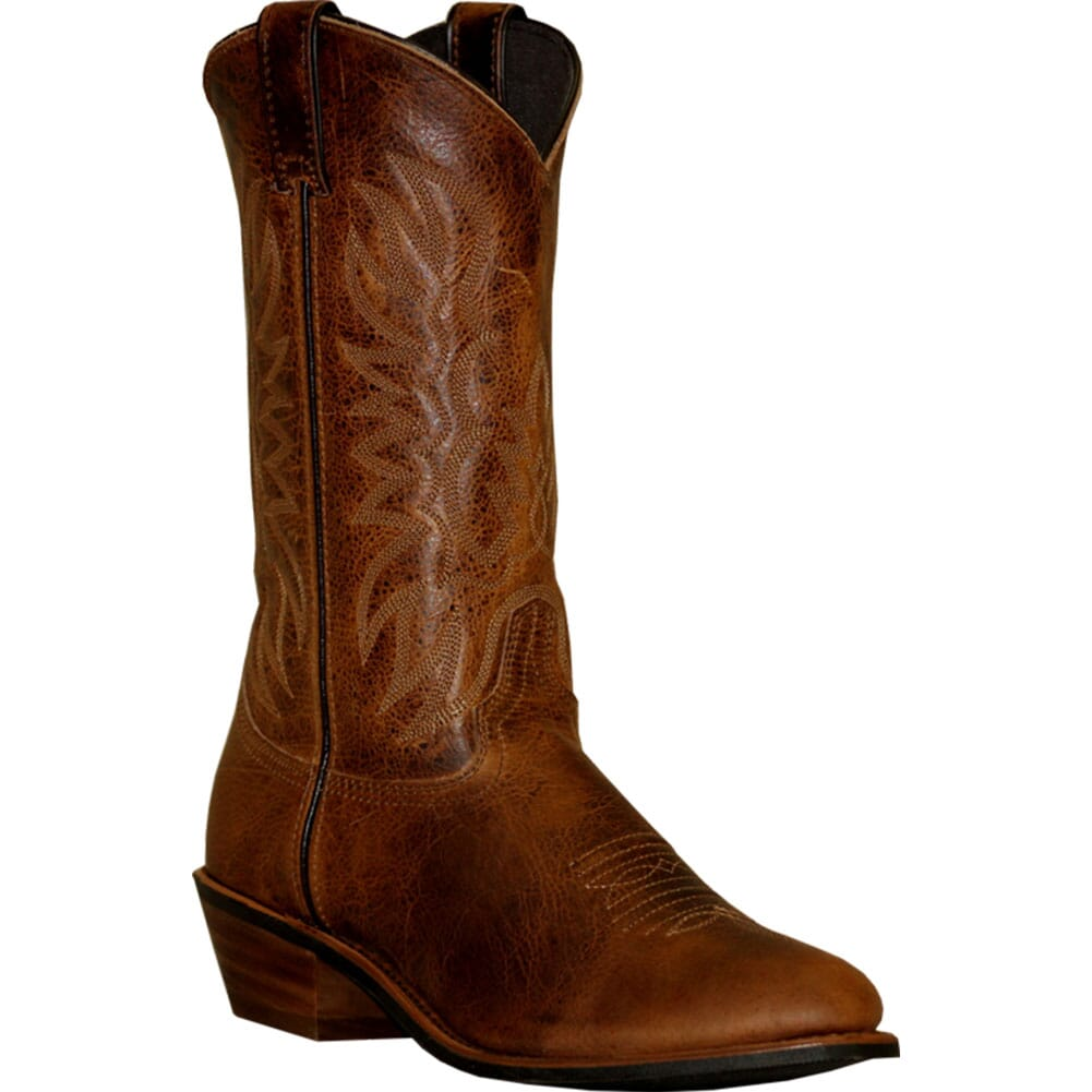 Image for Abilene Men's Cowhide Textured Western Boots - Brown from bootbay