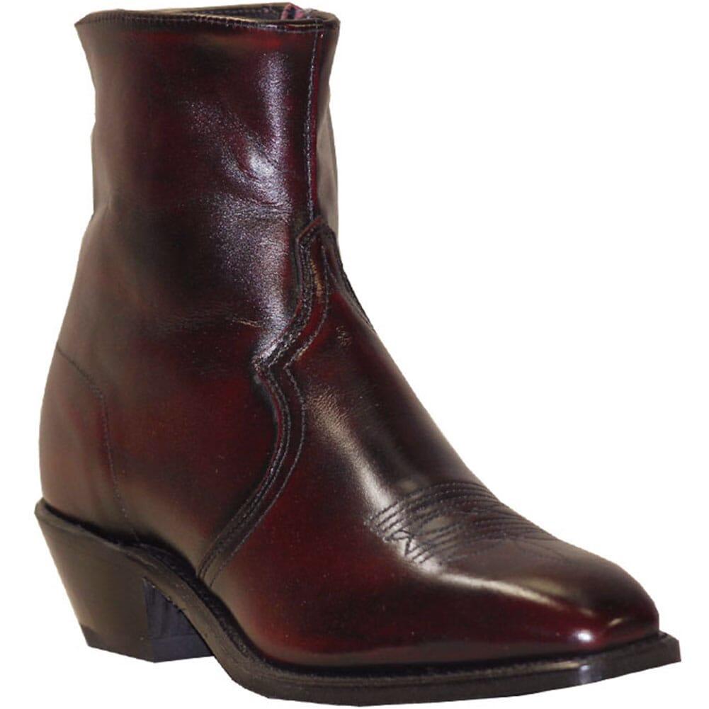 Image for Abilene Men's 7IN Side Zip Western Boots - Black Cherry from bootbay