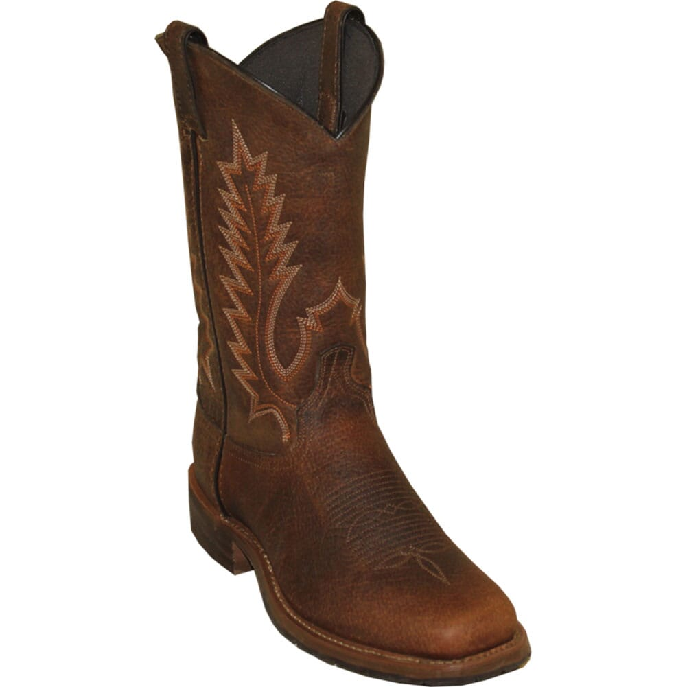 Image for Abilene Men's Stockman Western Boots - Tan Bison from bootbay