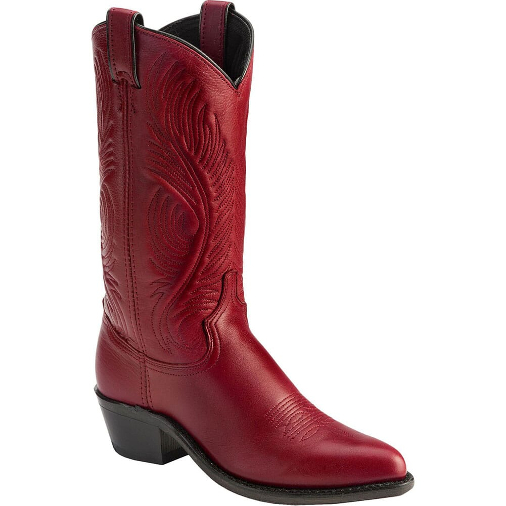 Image for Abilene Women's Garment Western Boots - Red from elliottsboots