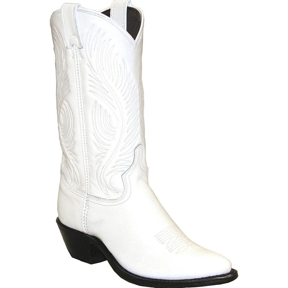 Image for Abilene Women's Garment Western Boots - White from elliottsboots