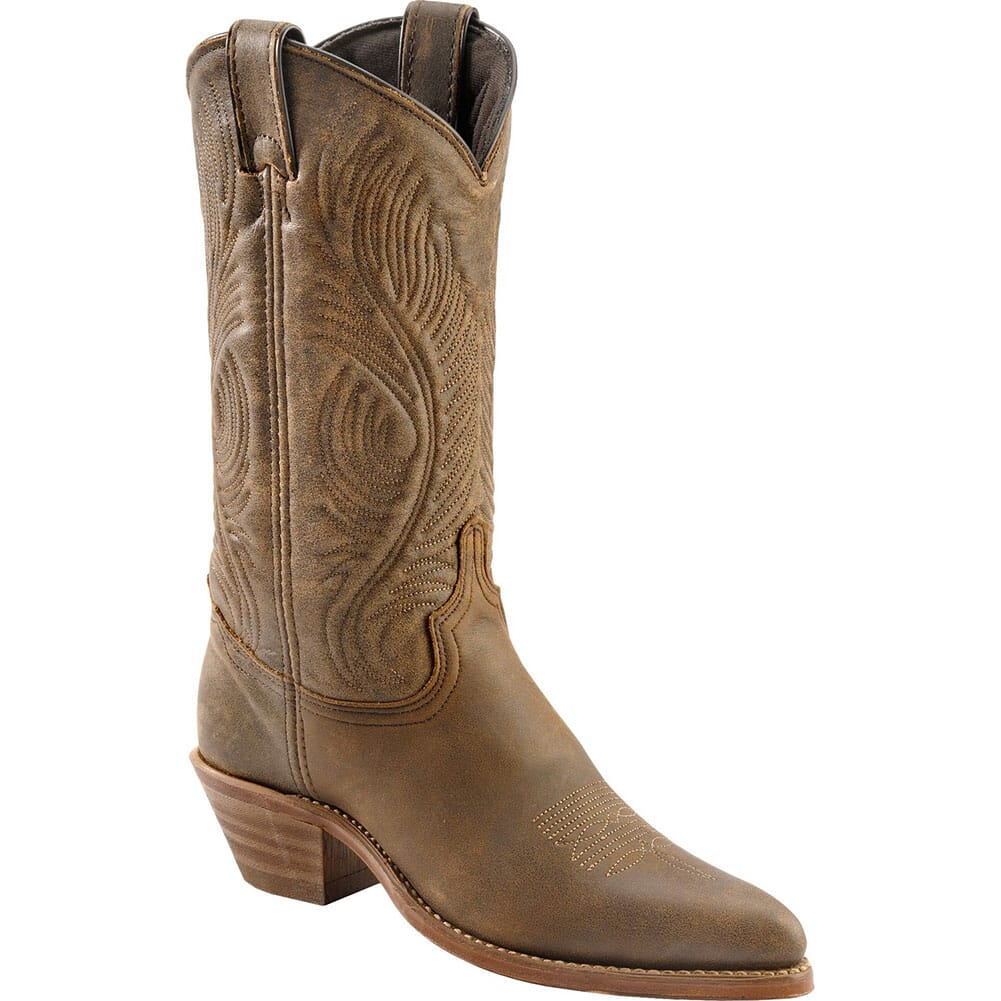 Image for Abilene Women's Cowhide Western Boots - Brown from bootbay