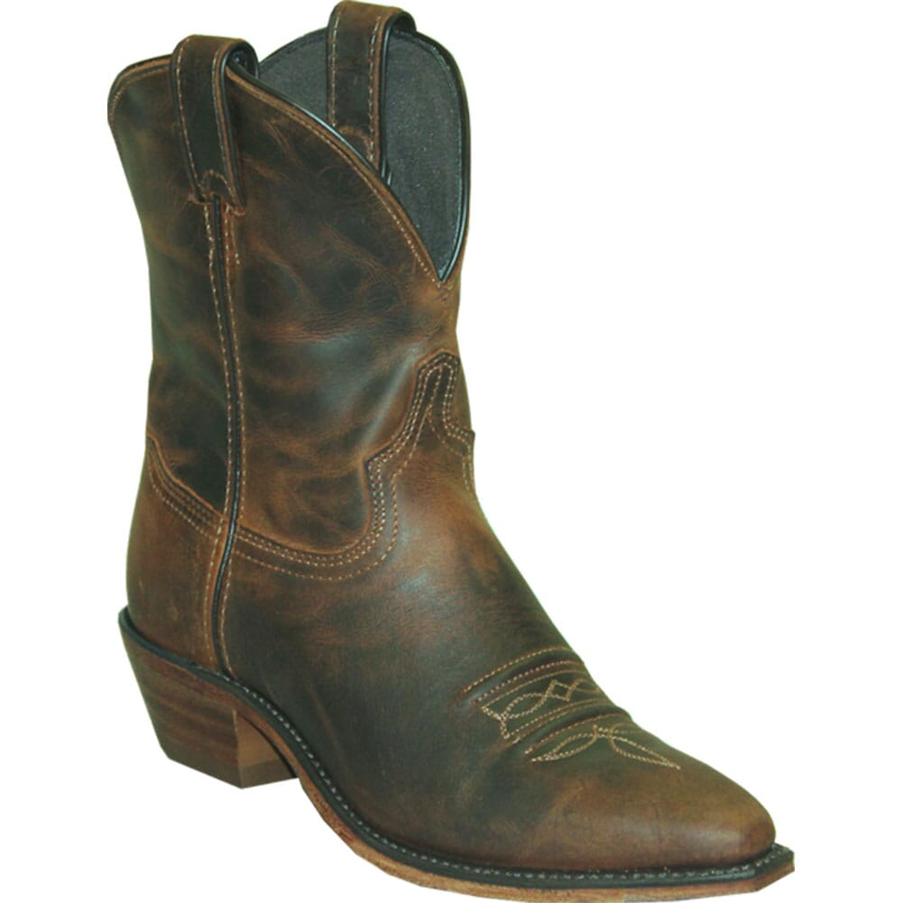 Image for Abilene Women's Snip Toe Western Boots - Distressed Brown from bootbay