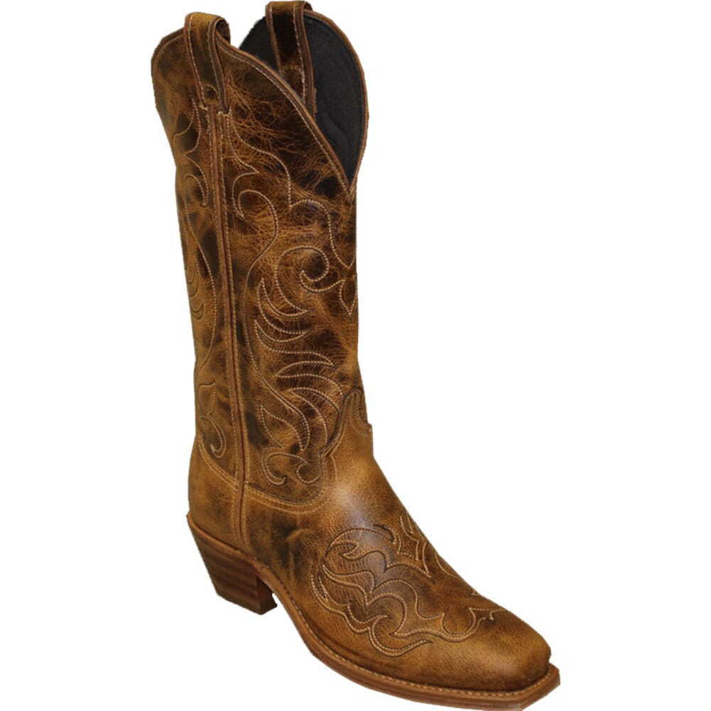 Image for Abilene Women's Leather Western Boots - Antique Tan from bootbay