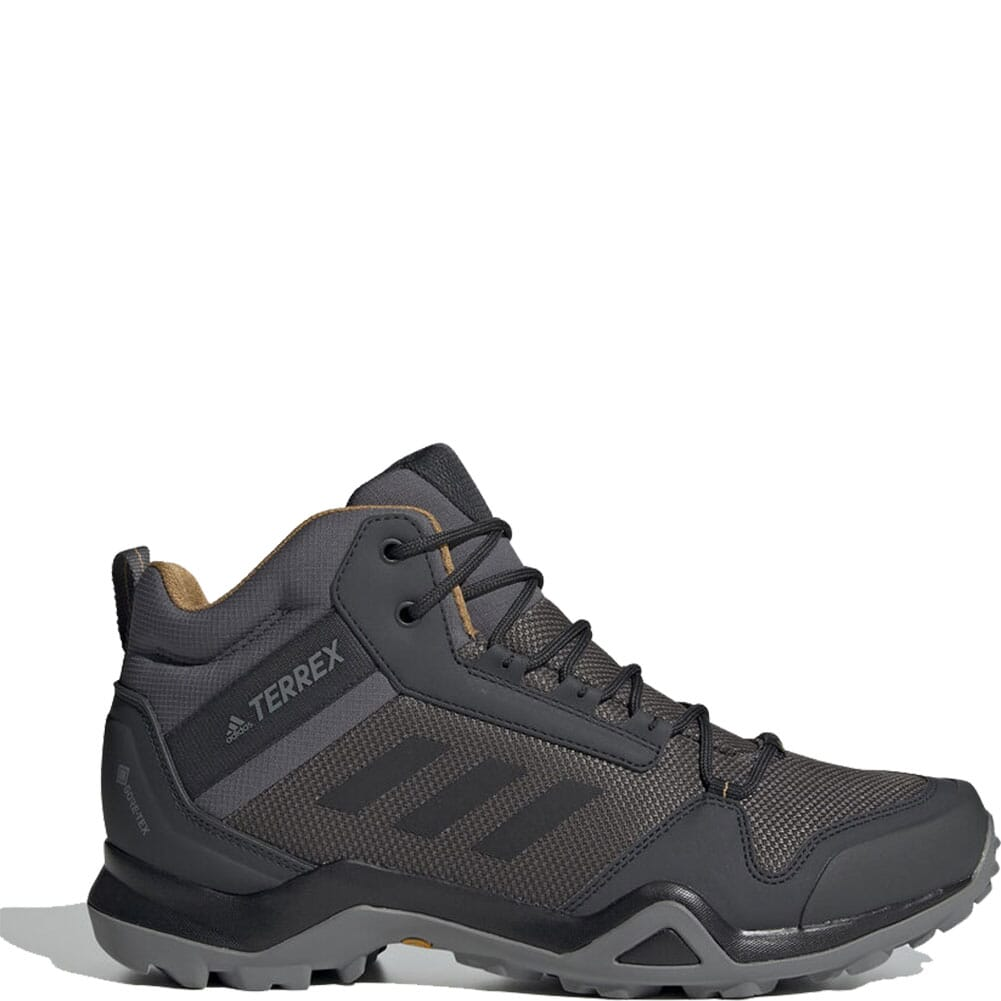 Image for Adidas Men's Terrex AX3 Mid Hiking Boots - Grey Five/Black/Mesa from bootbay