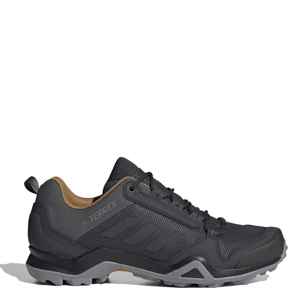 Image for Adidas Men's Terrex AX3 Hiking Shoes - Grey Five/Black/Mesa from bootbay