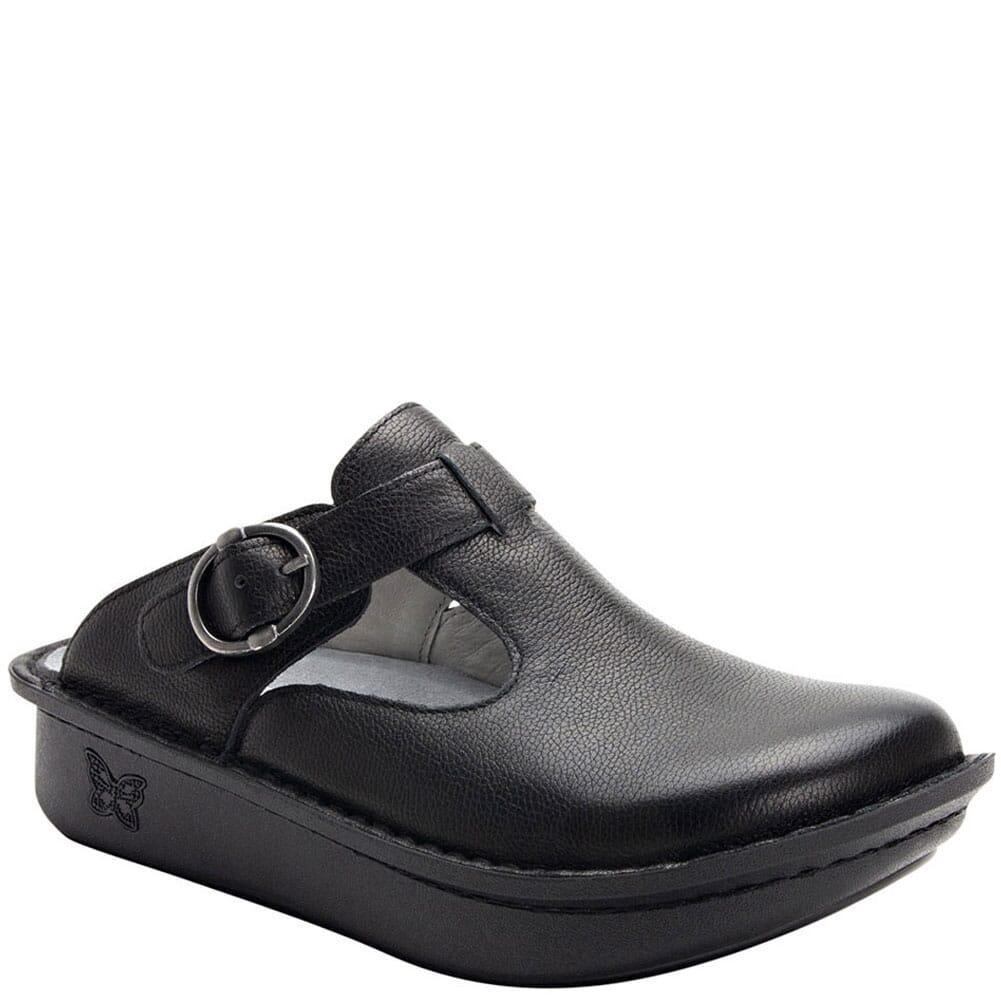 Image for Alegria Women's Classic Upgrade Casual Clogs - Black from bootbay