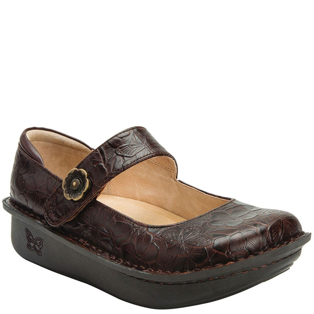 Image for Alegria Women's Paloma Mary Jane Casual Shoes - Flutter Choco from bootbay