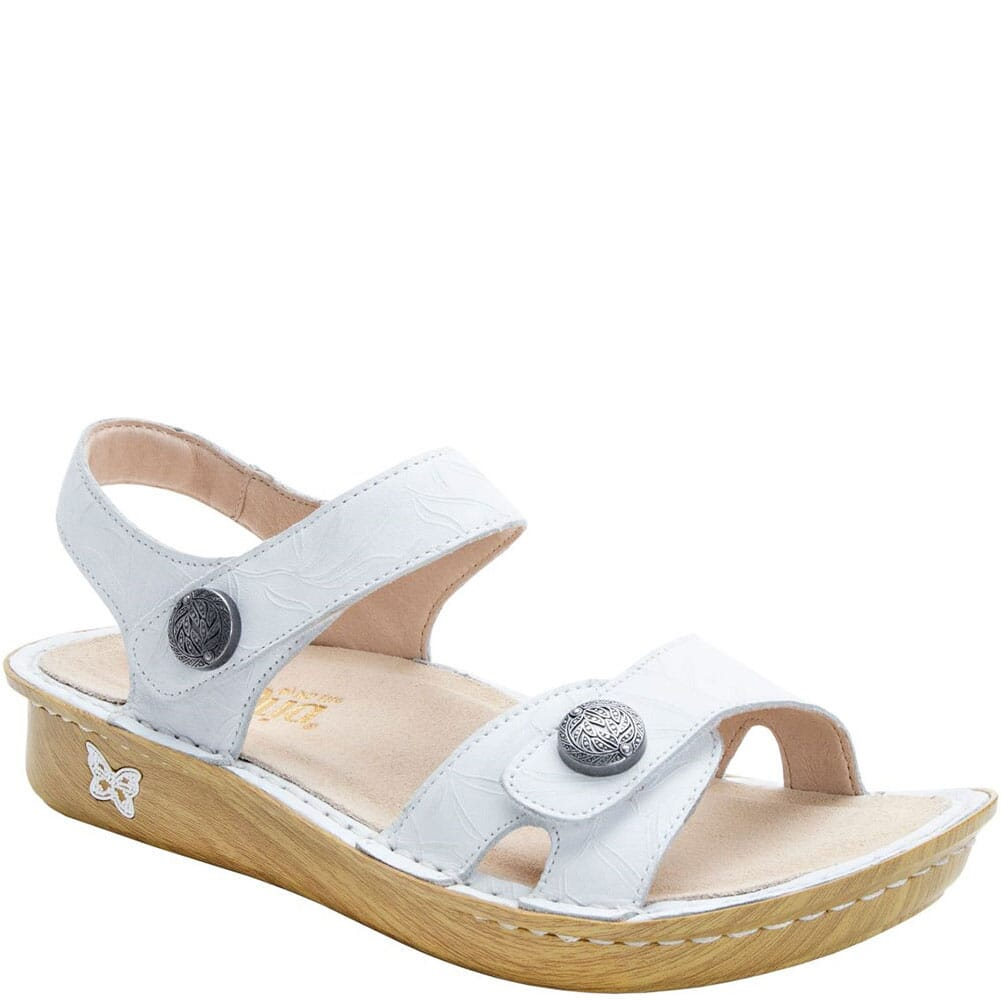 Image for Alegria Women's Vienna Slingback Sandals - Lotus White from bootbay