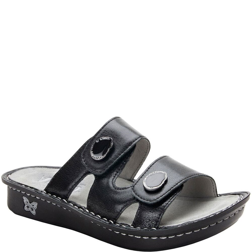 Image for Alegria Women's Violette Slip-On Sandals - Black from elliottsboots