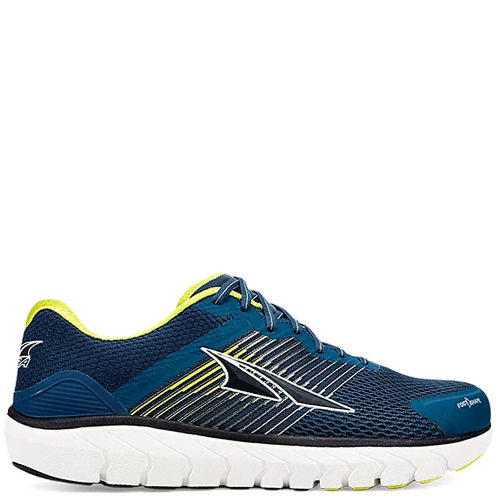 Image for Altra Men's Provision 4 Running Shoes - Blue/Lime from bootbay