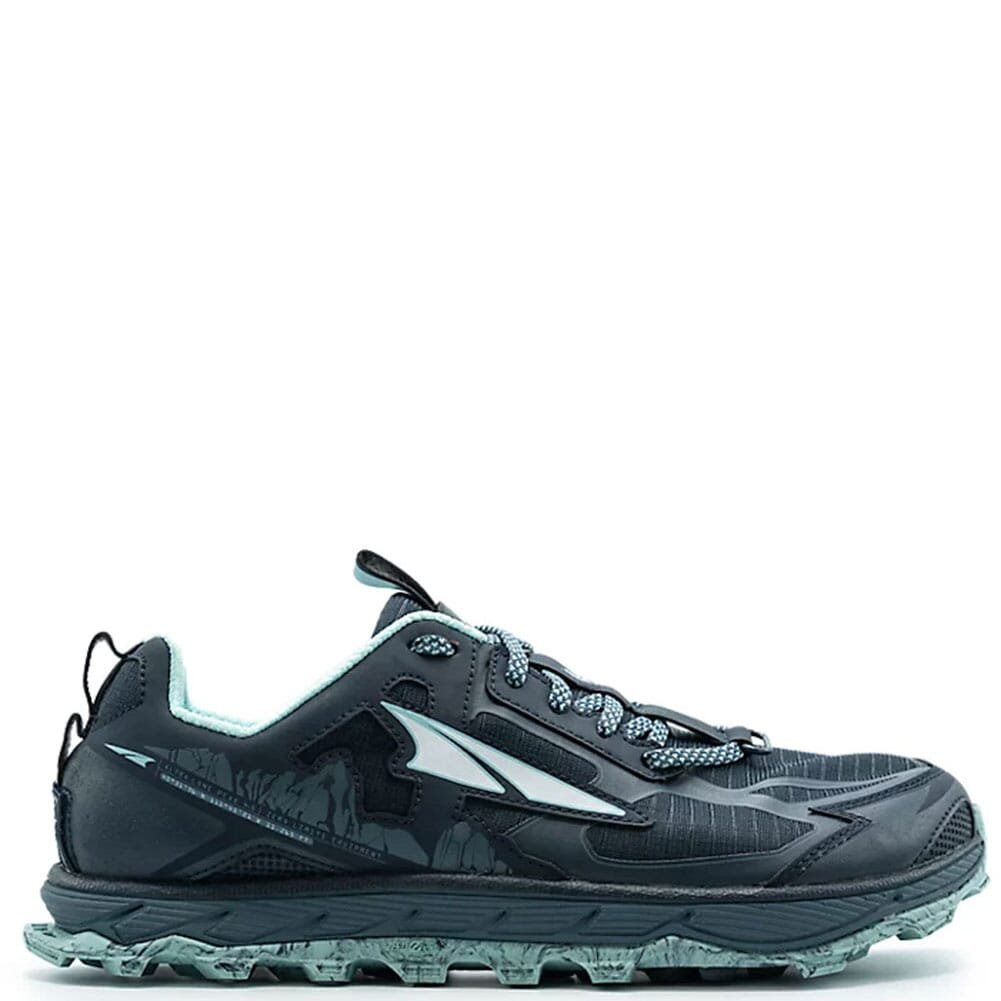 Image for Altra Women's Lone Peak 4.5 Running Shoes - Navy/Light Blue from elliottsboots