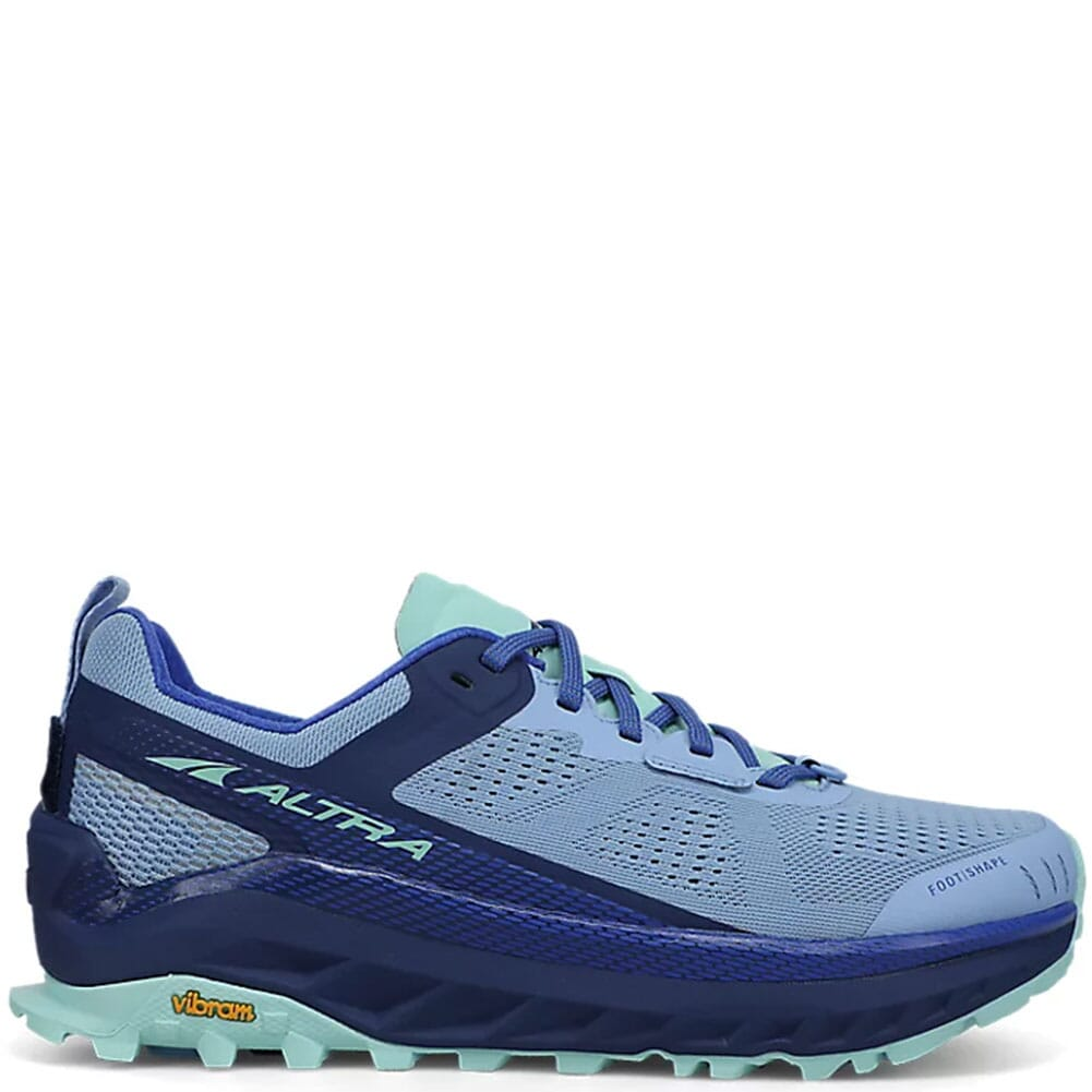 Image for Altra Women's Olympus 4 Running Shoes - Navy/Light Blue from bootbay