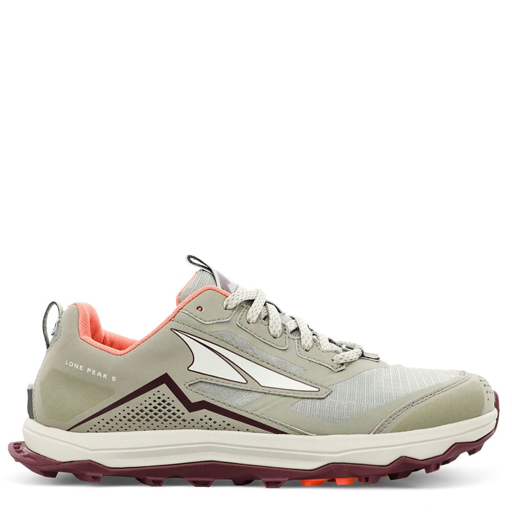 Image for Altra Women's Lone Peak 5 Low Running Shoes - Khaki from elliottsboots