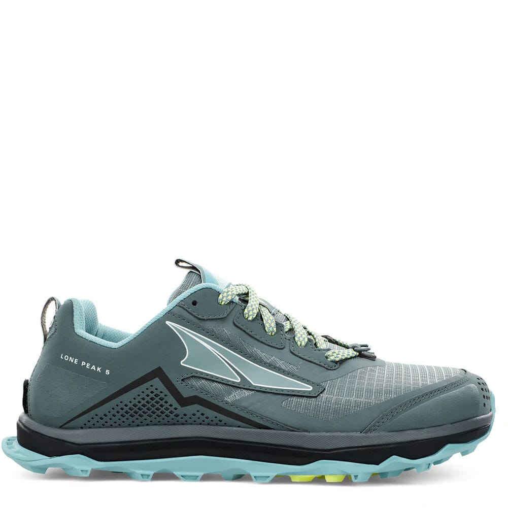 Image for Altra Women's Lone Peak 5 Wide Running Shoes - Balsam Green from elliottsboots