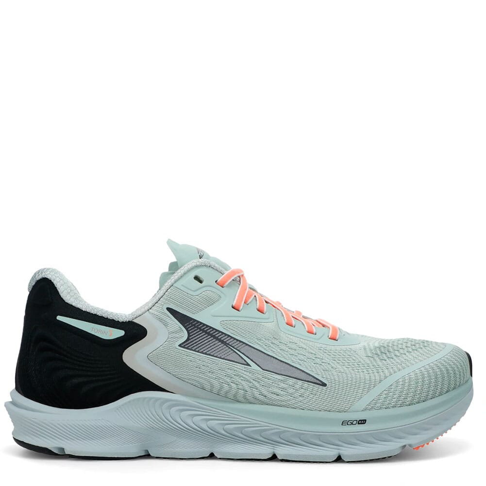 Image for Altra Women's Torin 5 Wide Athletic Shoes - Gray/Coral from elliottsboots