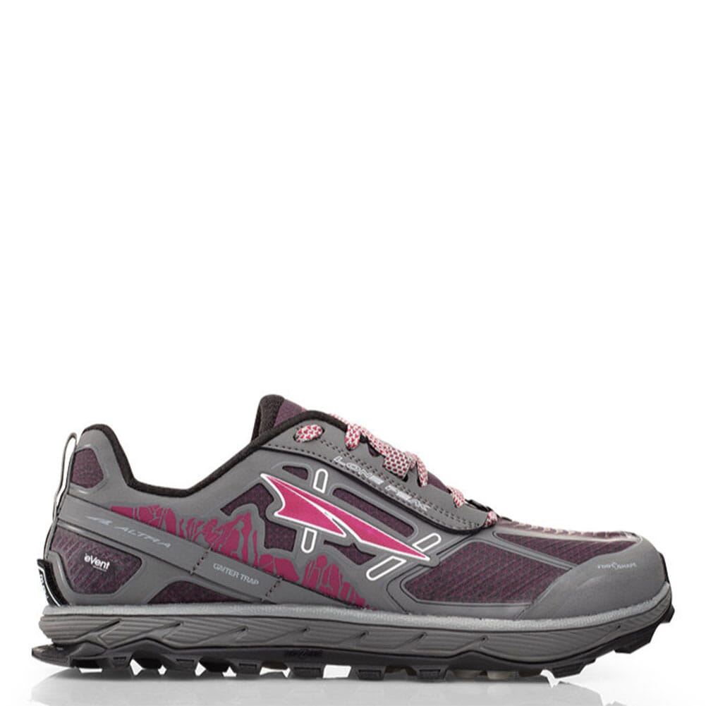Image for Altra Women's Lone Peak 4 Low Athletic Shoes - Grey/Rasp from bootbay