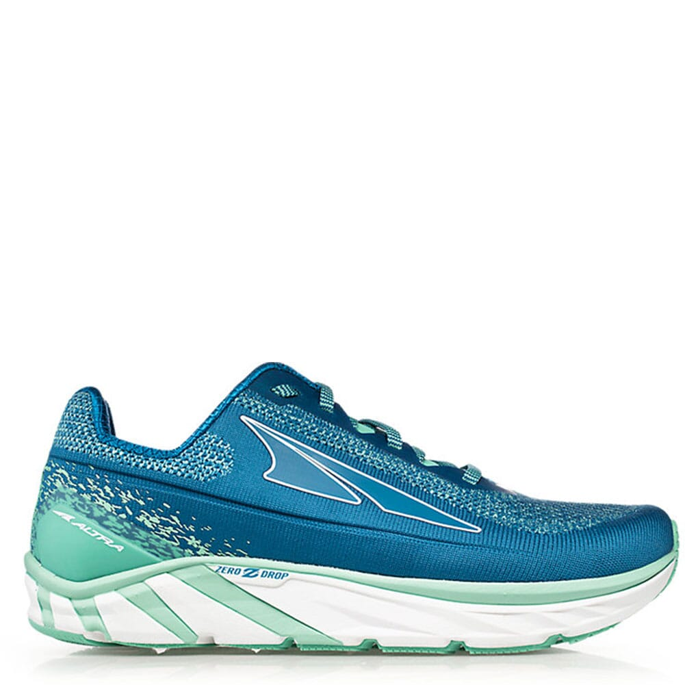 Image for Altra Women's Torin 4 Plush Athletic Shoes - Blue/Green from elliottsboots