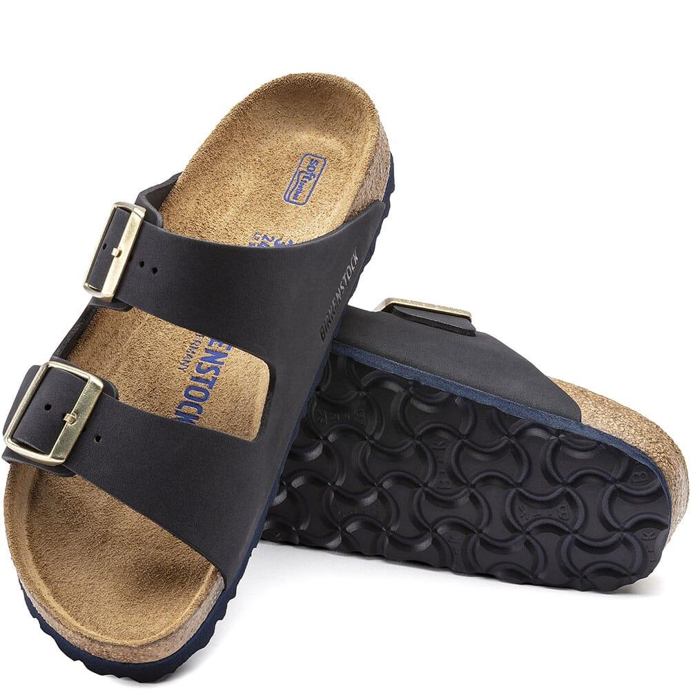 1020587 Birkenstock Women's Arizona Sandals - Midnigh