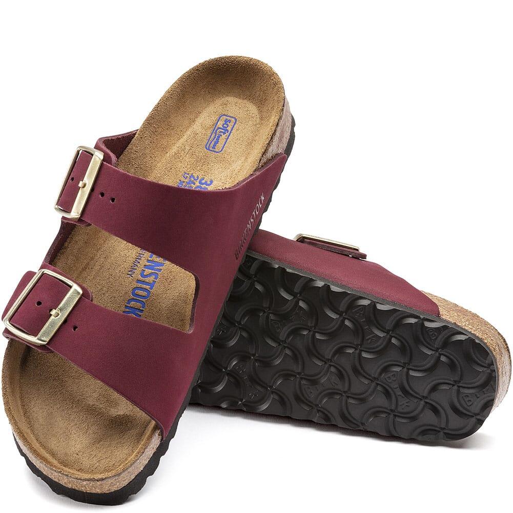 1020631 Birkenstock Women's Arizona Sandals - Maroon