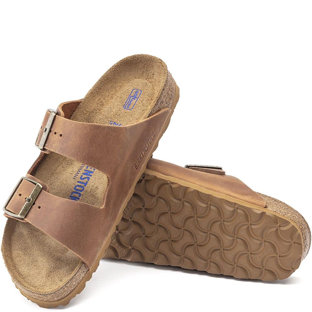 1020731 Birkenstock Women's Arizona Sandals - Cognac