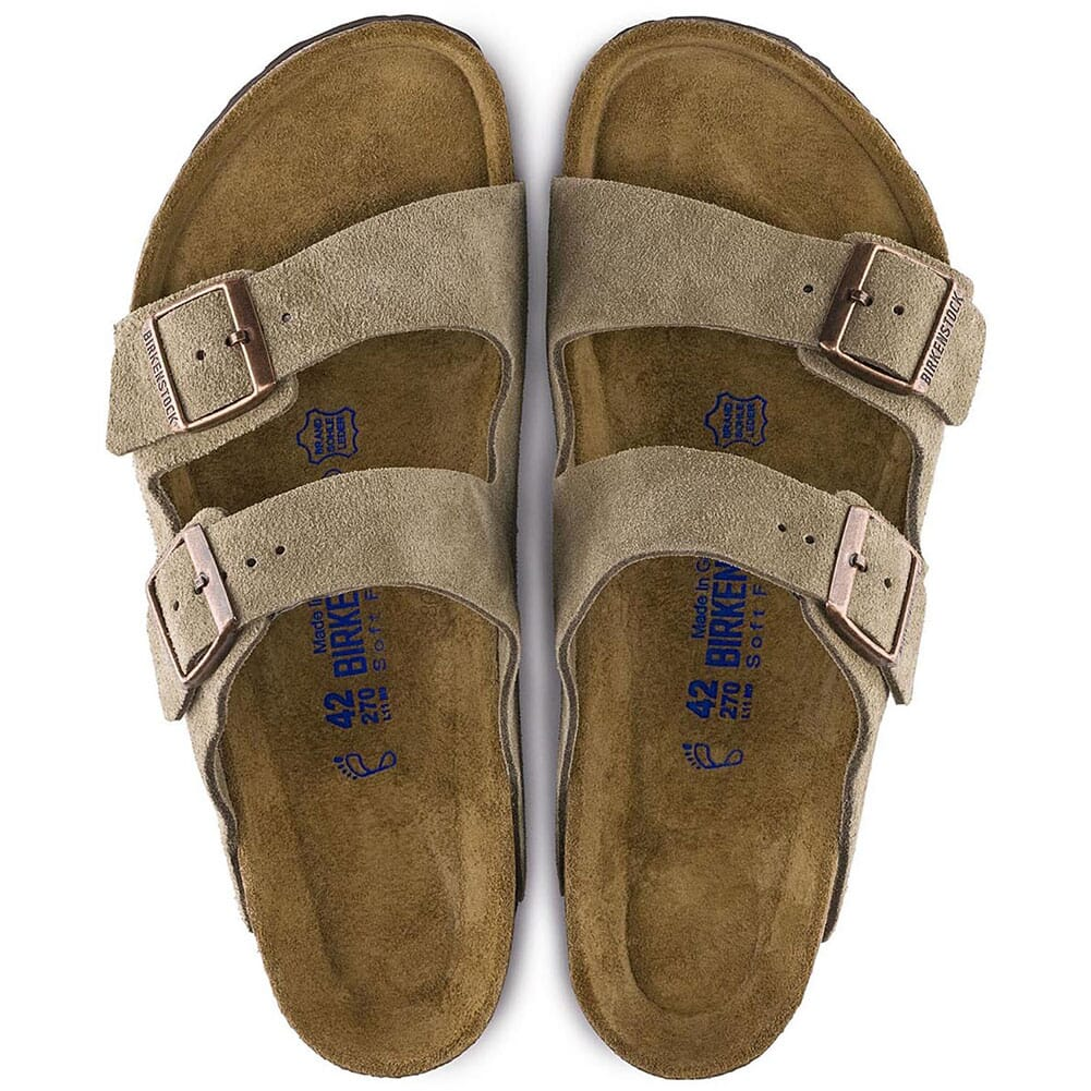 Birkenstock Men's Arizona Sandals - Taupe