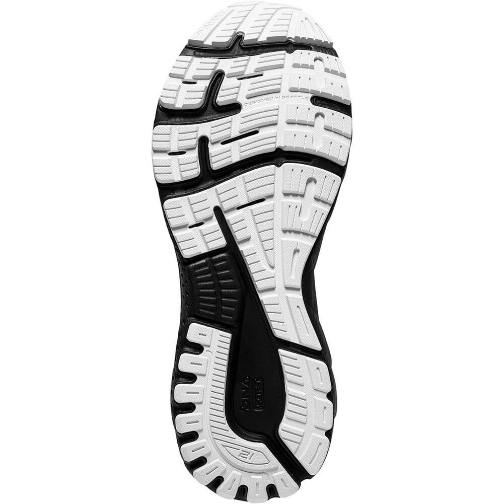 120329-135 Brooks Women's Adrenaline GTS 21 Running Shoes - White/Grey/Black