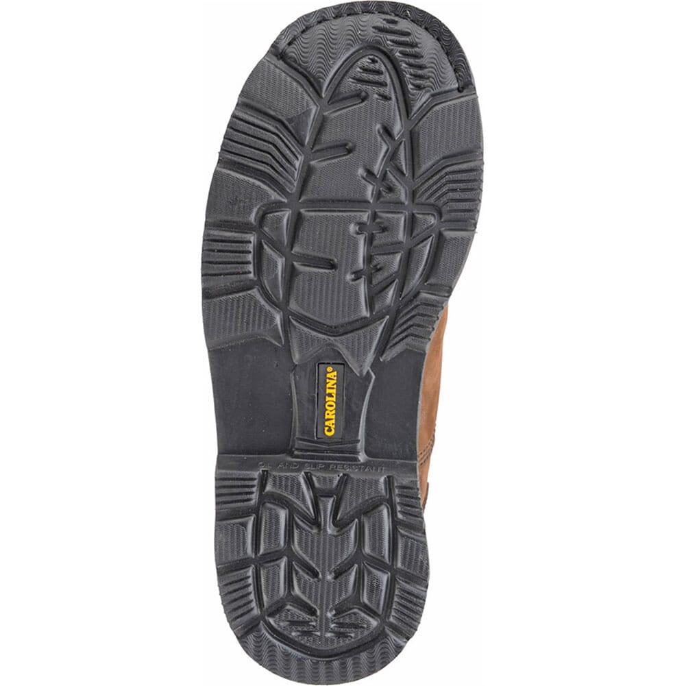 Carolina Men's Oblique Toe Work Boots - Dark Brown