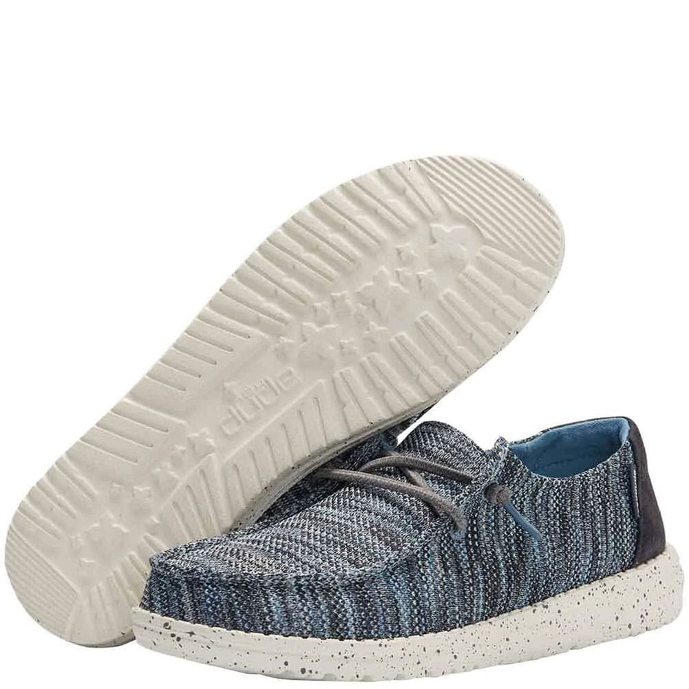 121922139 Hey Dude Women's Wendy Sox Casual Shoes - Ice Blue