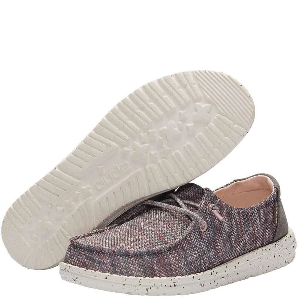 121925006 Hey Dude Women's Wendy Sox Casual Shoes - Antique Rose