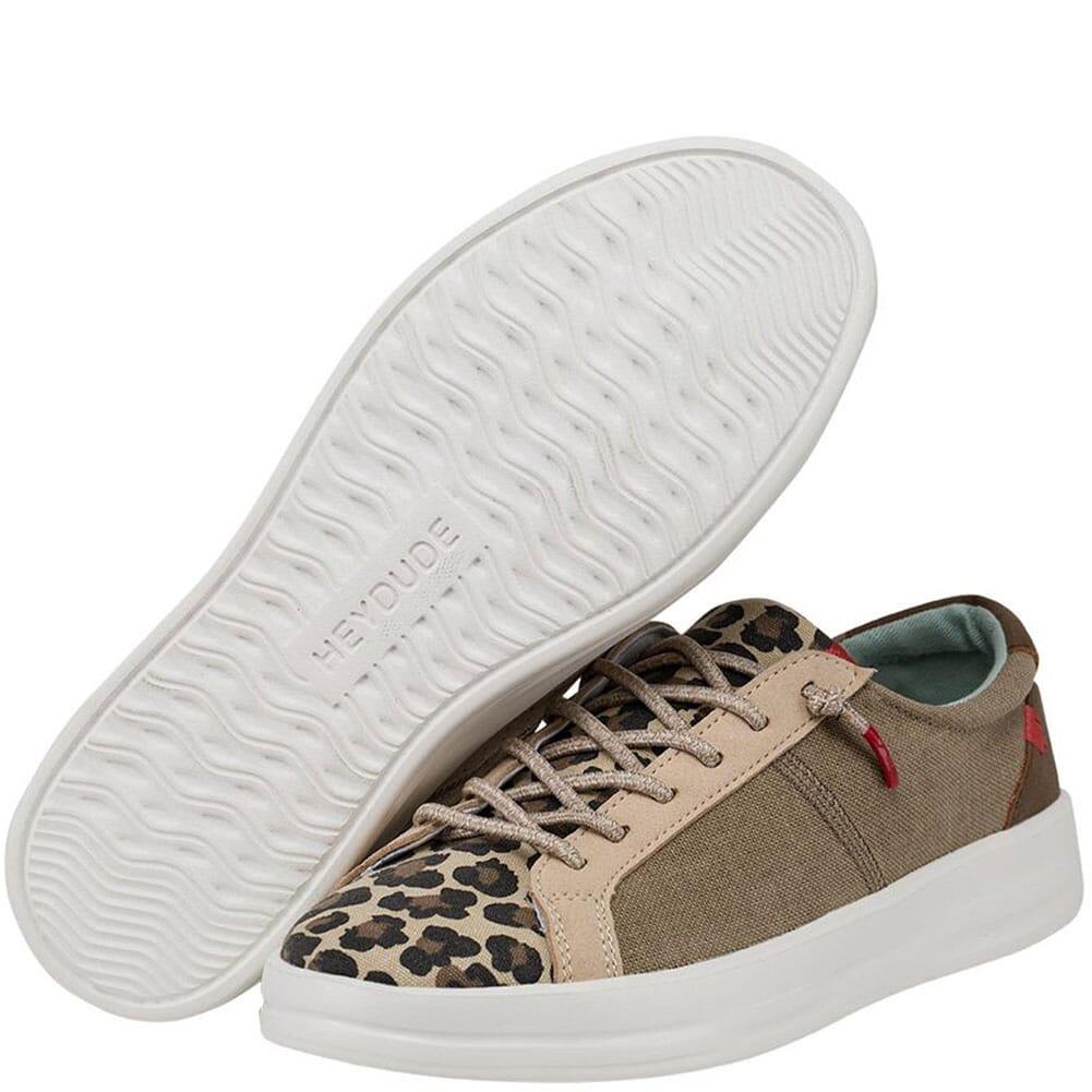 121970567 Hey Dude Women's Karina Casual Shoes - Beige