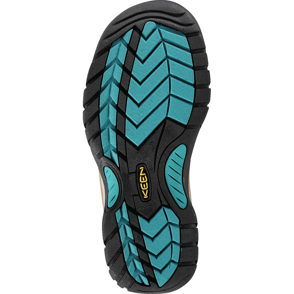 KEEN Women's Venice Sandals - Dark Earth/ Caribbean Sea