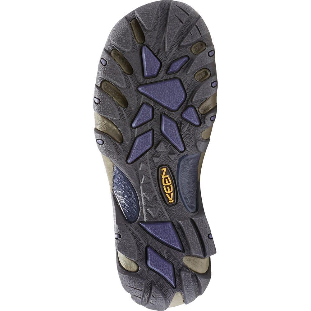 1016581 KEEN Women's Targhee II Mid WP Hiking Boots - Goat/Crown Blue