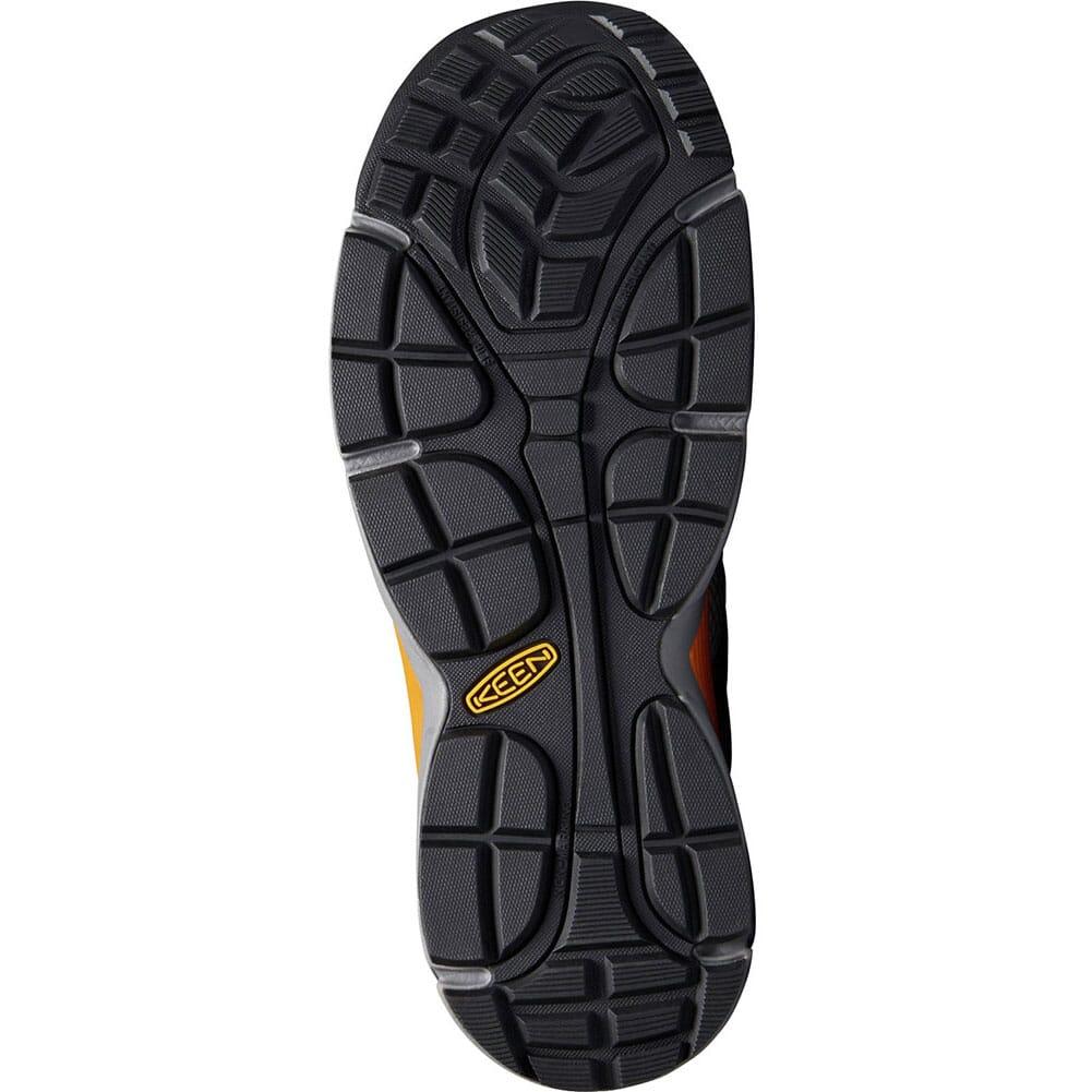 KEEN Men's San Antonio Safety Shoes - Magnet/Desert Sun