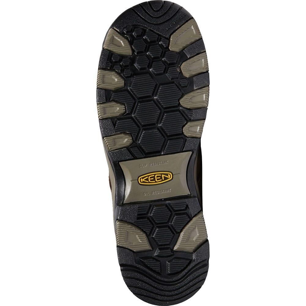 KEEN Men's Rockford WP Safety Boots - Cascade Brown/Black