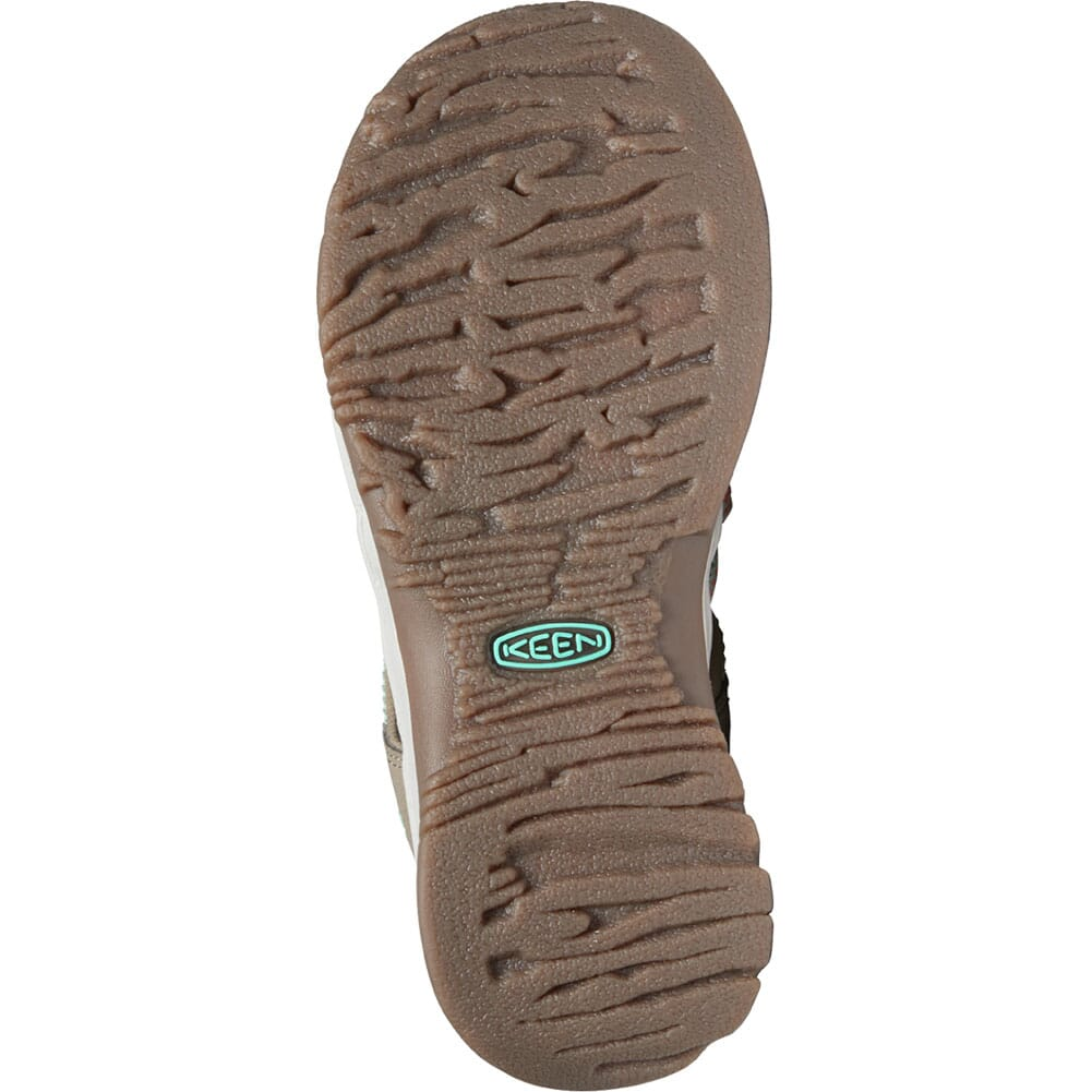 1022810 KEEN Women's Whisper Sandals - Taupe/Coral