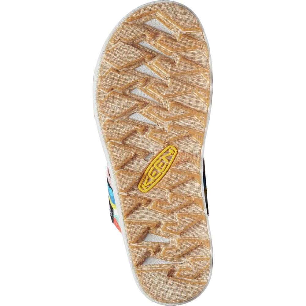 1024713 KEEN Women's Elle Backstrap Sandals - Black/Peach Pearl