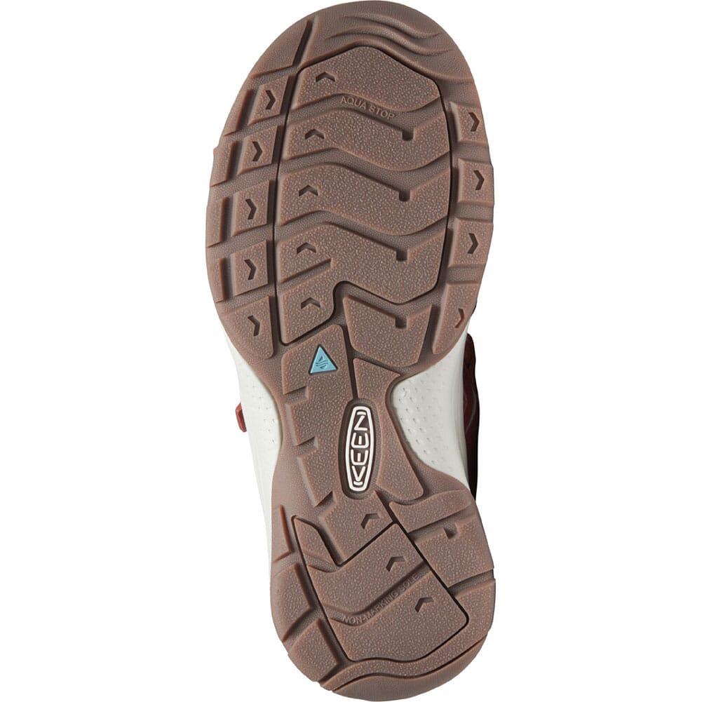 1024869 KEEN Women's Astoria West Open Toe Sandals - Redwood/Pheasant