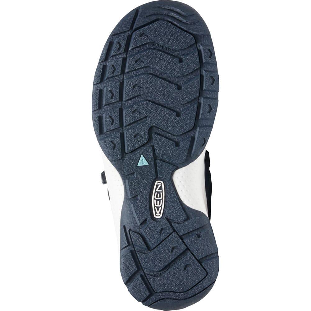 1024871 KEEN Women's Astoria West Open Toe Sandals - Blue Nights/Black Iris