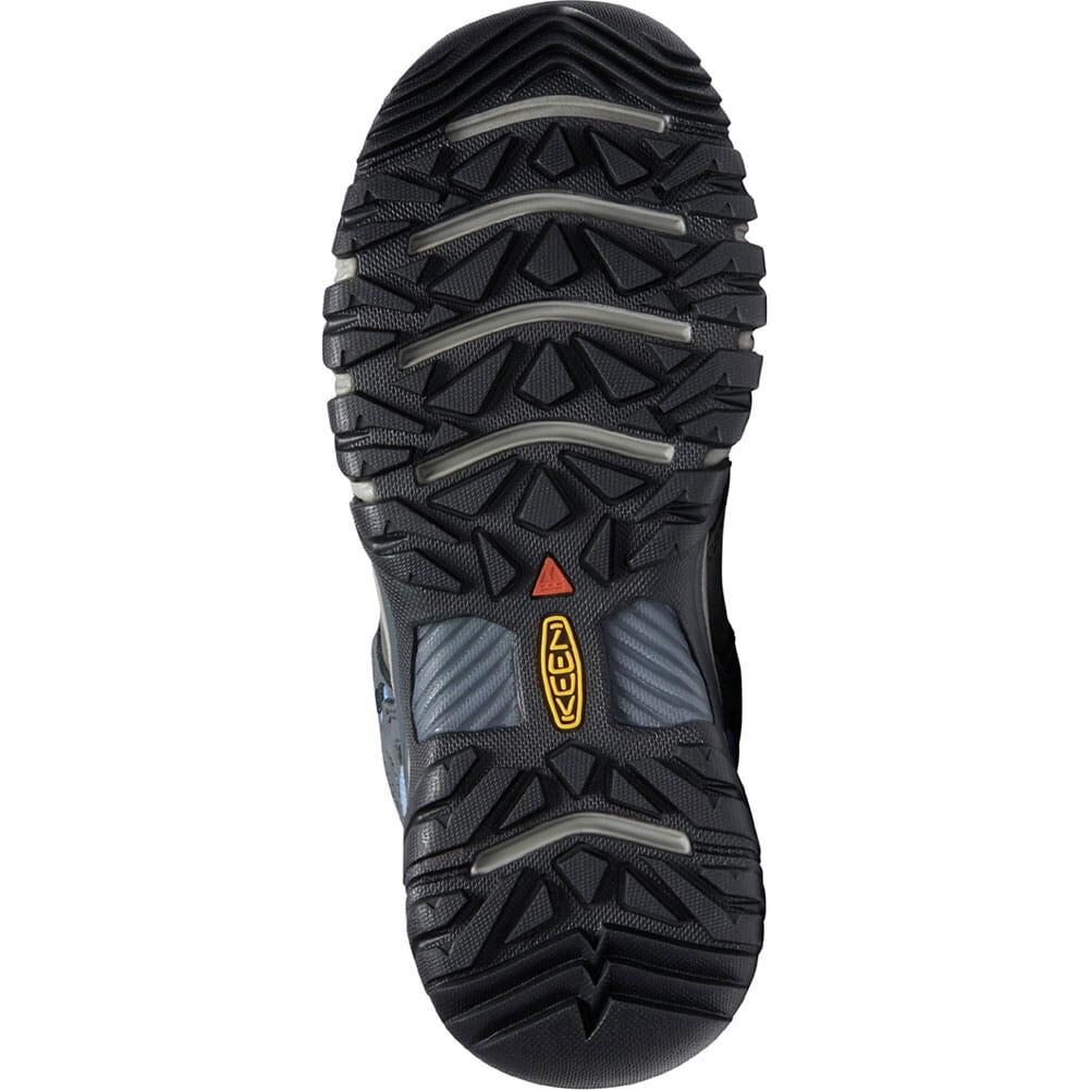 1024923 KEEN Women's Ridge Flex WP Hiking Boots - Steel Grey/Hydrangea