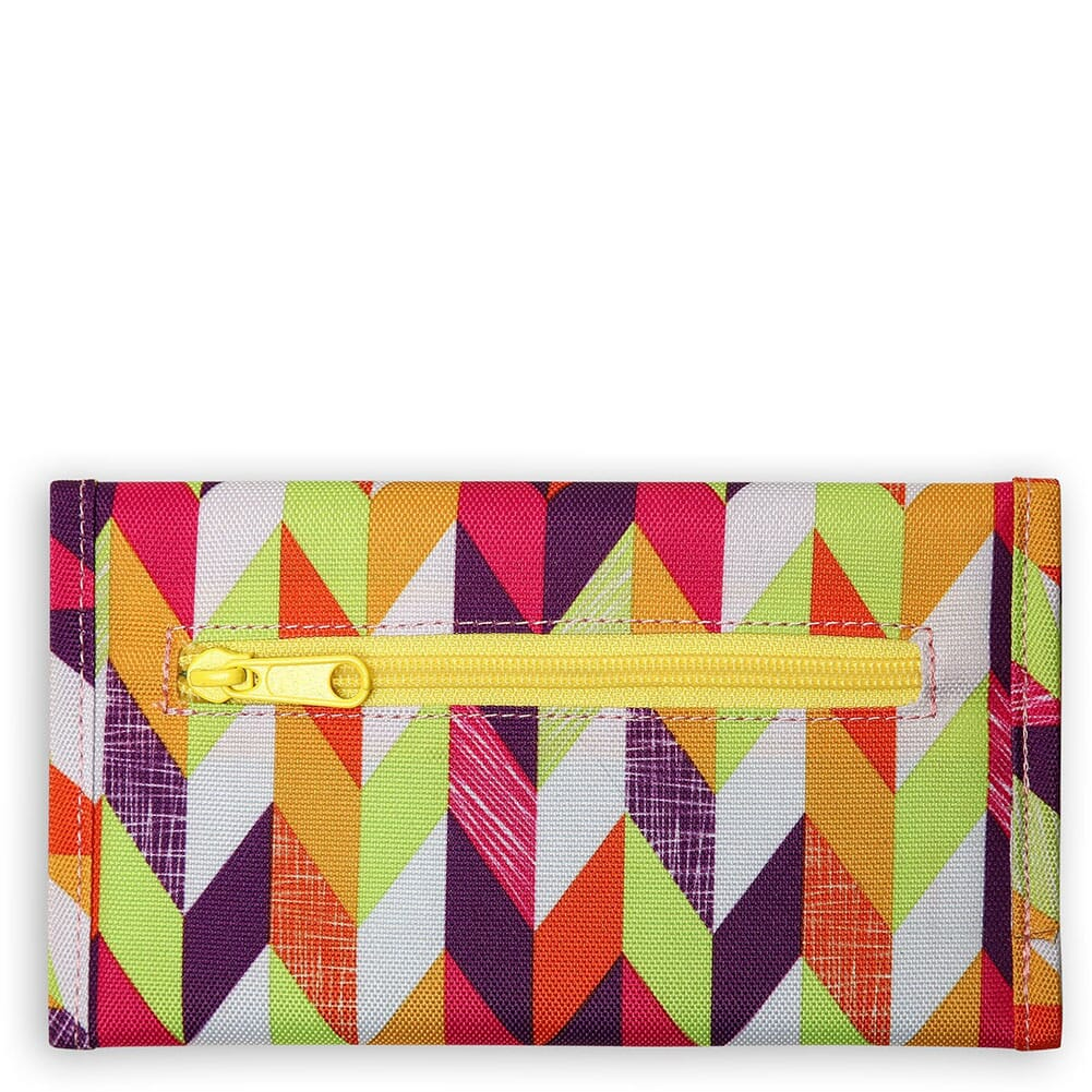 9070-1379 Kavu Women's Mondo Spender Wallet - Chevron Punch