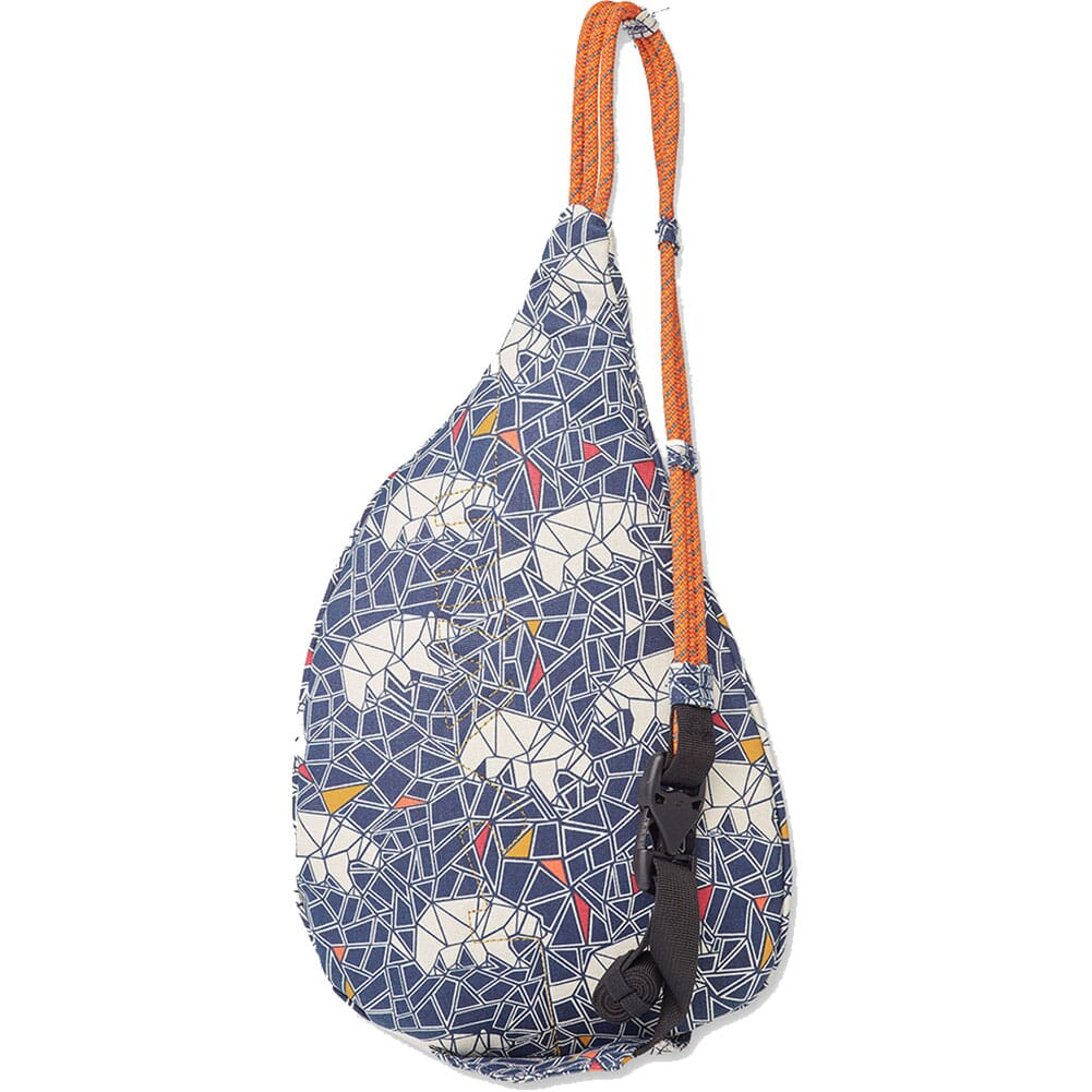 9150-1297 Kavu Women's Mini Rope Bag - Polar Mosaic
