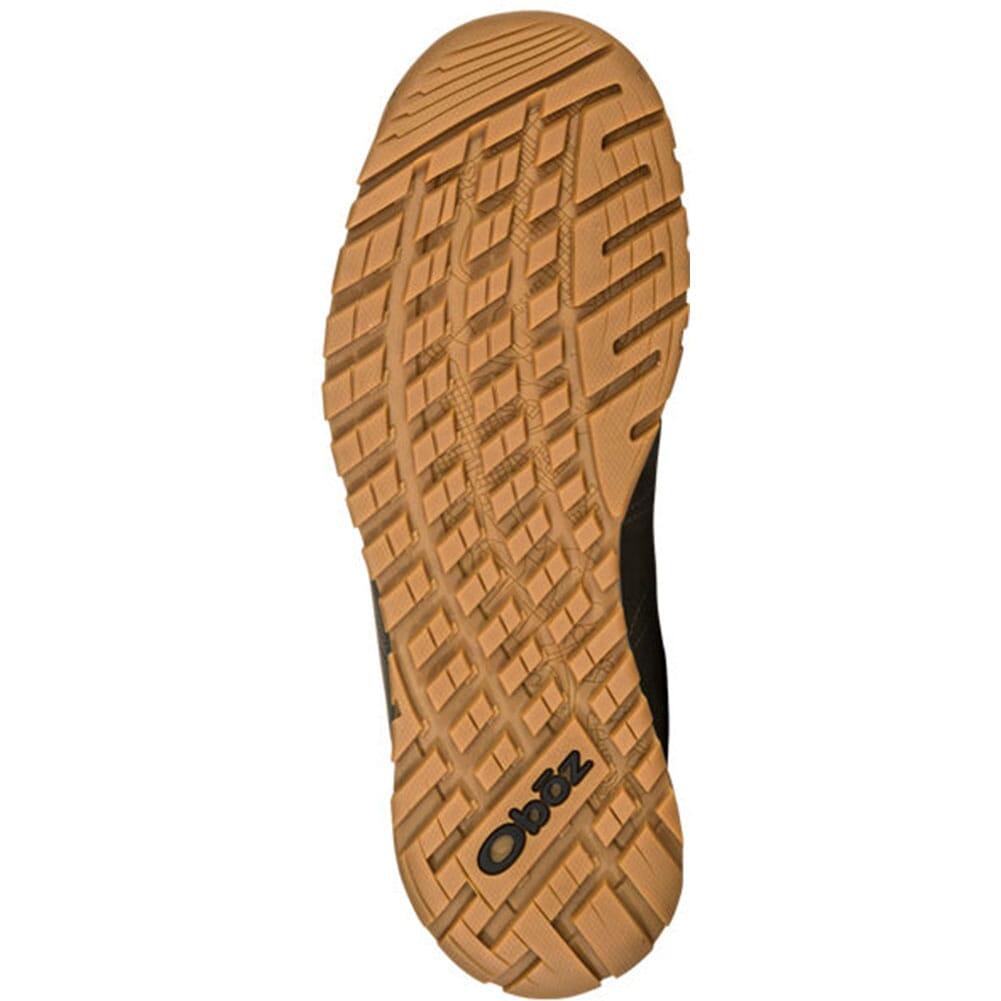 75101-CHRC Oboz Men's Bozeman Mid Leather Hiking Shoes - Charcoal