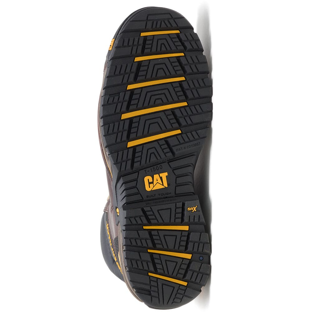 91086 Caterpillar Men's Excavator LT WP Comp Toe Safety Boots - Espresso