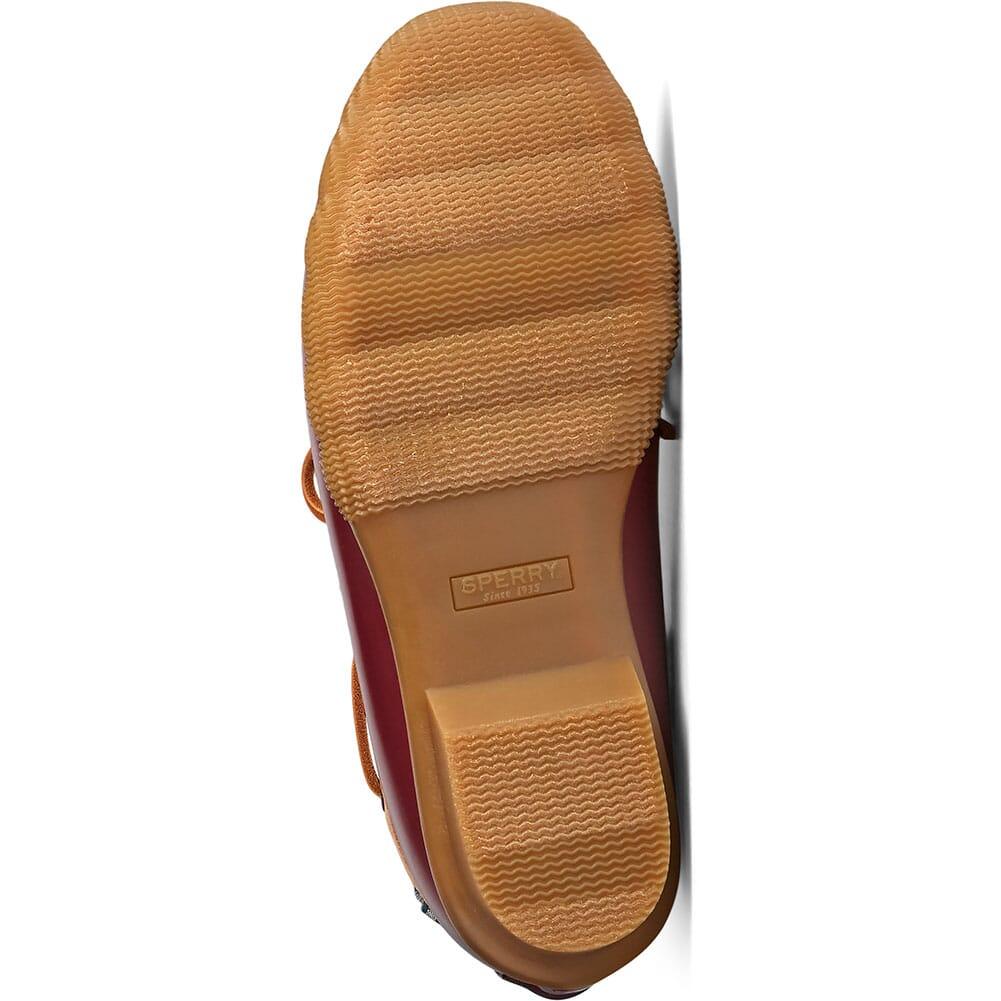 STS85459 Sperry Women's Saltwater 1-Eye Duck Shoes - Tan/Cordovan